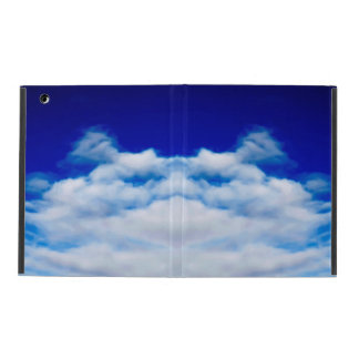 Funny animal cloud face iPad case