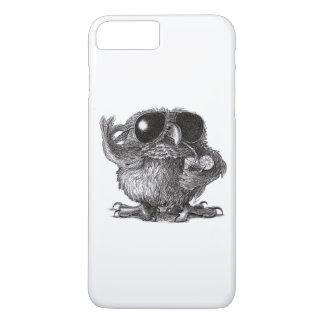 Funny Animal Cool Owl iPhone 8 Plus/7 Plus Case