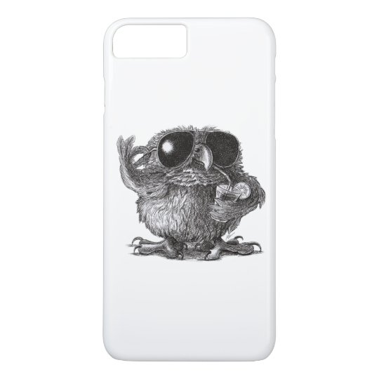 Funny Animal Cool Owl iPhone 8 Plus/7 Plus