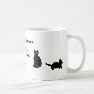 Funny Animal Mug Cats Welcome People Tolerated