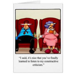 Happy fun anniversary cards invitations zazzle funny anniversary greeting card m4hsunfo