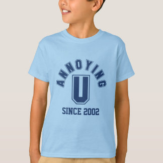 Funny Annoying You Boy Tee, Blue T-Shirt