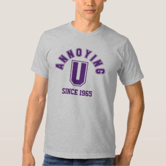 Funny Annoying You Dark Men's Tee, Purple T-shirt