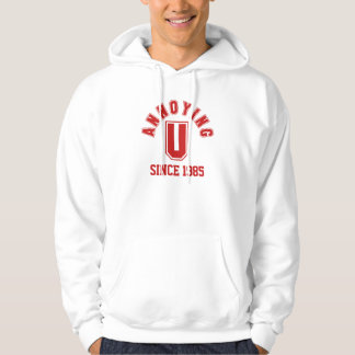 Funny Annoying You Men's Sweatshirt, Red Hoodie