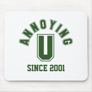 Funny Annoying You Mousepad, Green Mouse Pad