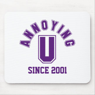 Funny Annoying You Mousepad, Purple