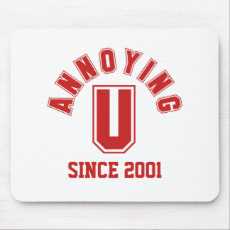 Funny Annoying You Mousepad Red