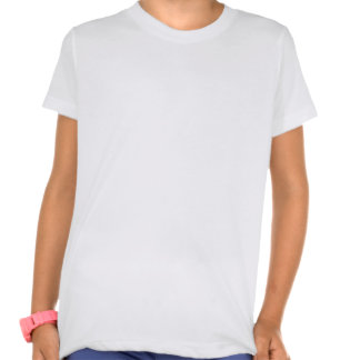 Girls' American Apparel Poly-Cotton Crew Neck T-Shirt