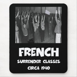 Funny anti French Mouse Mat