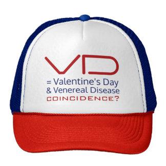 Funny Anti-Valentine VD hat