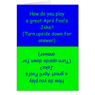 Funny April Fool's Day Joke Card