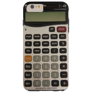 Funny Architectural Calculator Tough iPhone 6 Plus Case