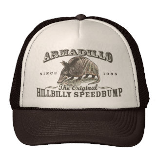 Funny Armadillo Speedbumps by Mudge Studios Cap