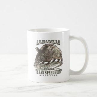 Funny Armadillo Speedbumps by Mudge Studios Coffee Mug