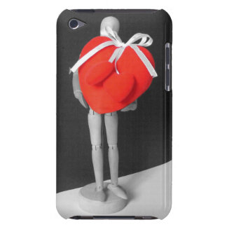 Funny Artist's Mannequin with Love Hearts Photo iPod Touch Case