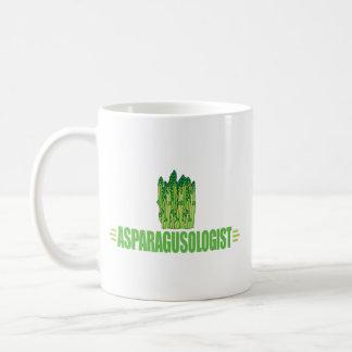 Funny Asparagus Basic White Mug