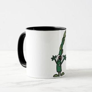 Funny Asparagus Mug