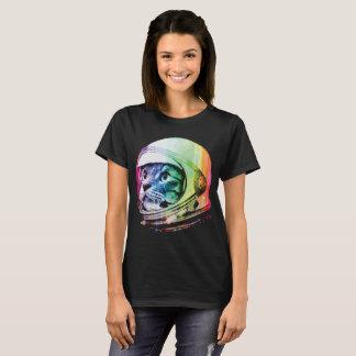 Funny Astronaut Cat & Space Cat T-Shirt