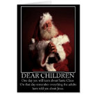 Funny atheist Santa Card