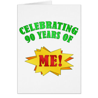 Funny Attitude 90th Birthday Gifts Greeting Card