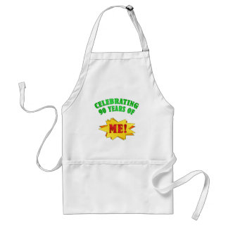 Funny Attitude 90th Birthday Gifts Standard Apron