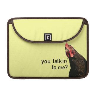 Funny Attitude Chicken MacBook Pro Sleeves