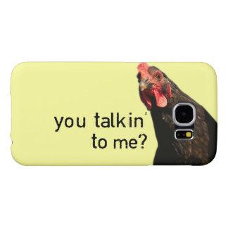 Funny Attitude Chicken Samsung Galaxy S6 Cases
