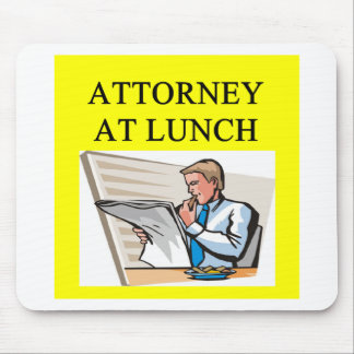 funny attorney lawyer joke mouse pad