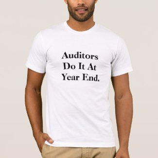 Funny Audit Slogan T