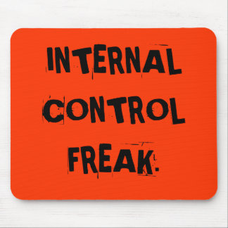 Funny Auditor Nickname - Internal Control Freak Mouse Mat