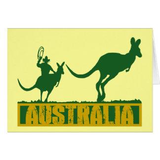 Funny Australia Card