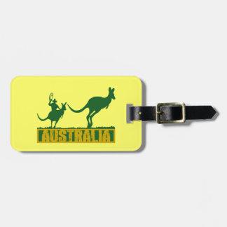 Funny Australia Luggage Tag