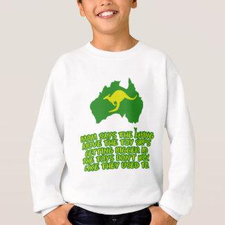 Funny Australian slang Sweatshirt