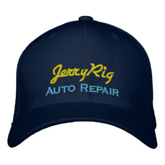 Funny Auto Mechanic Embroidered Cap