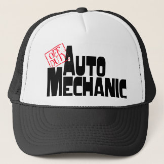 Funny Auto Mechanic Trucker Hat