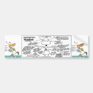 Funny Aviation Duck Bumper Sticker