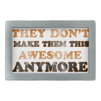 Funny awesome designs rectangular belt buckles