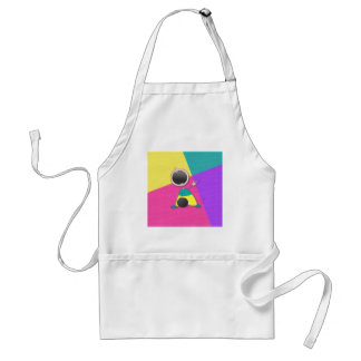 Funny Baby Bowler Standard Apron