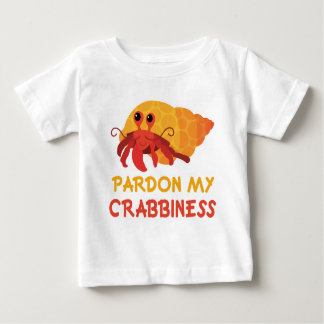 Funny Baby Cartoon Hermit Crab Tee