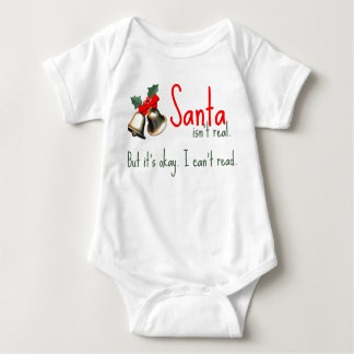 Funny Baby Santa Outfit Baby Bodysuit
