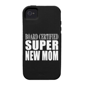 Funny Baby Showers New Mothers Super New Mom iPhone 4/4S Covers