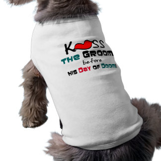 Funny Bachelor Party Gifts and Favors Sleeveless Dog Shirt