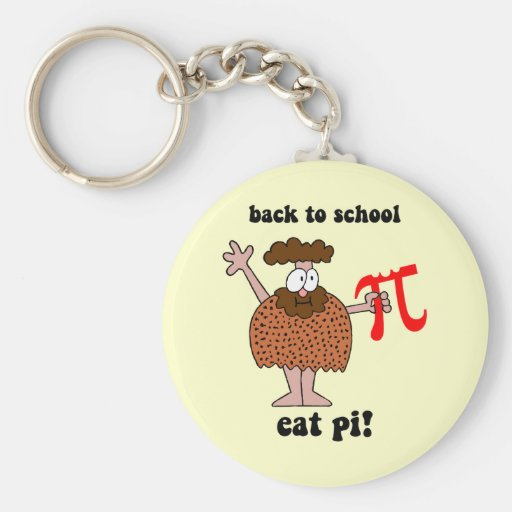 Funny back to school math keychains