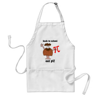 Funny back to school math standard apron