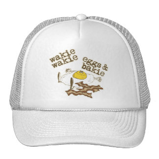 Funny Bacon and Eggs Cap