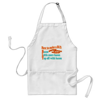 Funny Bacon Humor BLT Sandwich Aprons