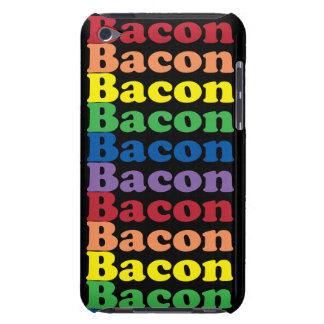 funny bacon rainbow colors text iPod touch Case-Mate case