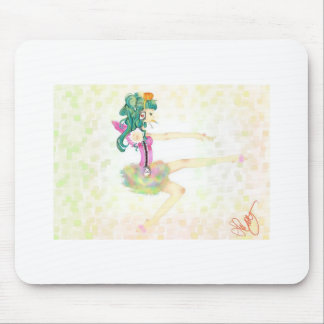 Funny Ballet Mouse Pad