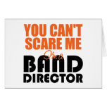Funny Band Director Greeting Card