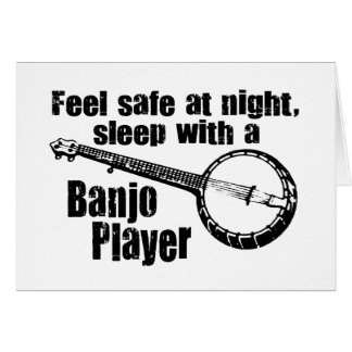 Funny Banjo Card